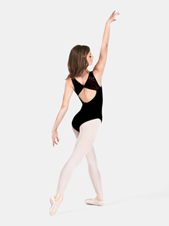 Tank Narrow Flocked Leotard