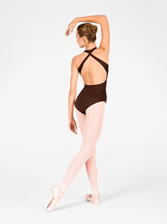 Adult Cross Back Halter Leotard