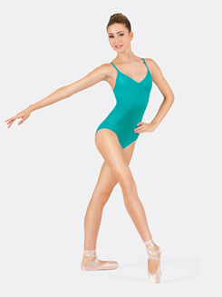 Adult Camisole Keyhole Back Leotard