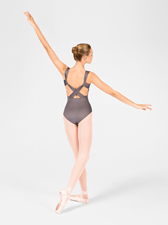 Adult Pinch Front X-Back Tank Leotard 