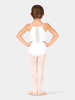 Child Lace Back Camisole Leotard