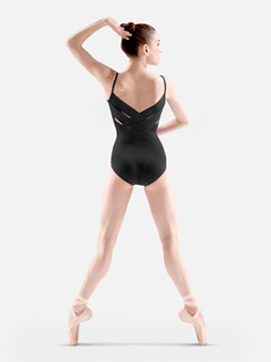 Camisole Cross Back Beaded Leotard