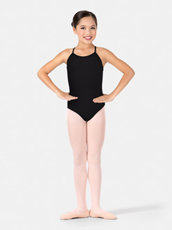 Child Camisole X-Back Leotard