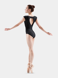 Cap Sleeve Beaded Leotard