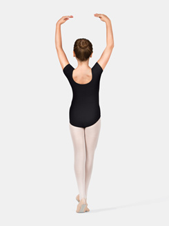 Girls Cap Sleeve Dance Leotard