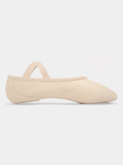 Child Elemental Leather Split-Sole Ballet Slippers