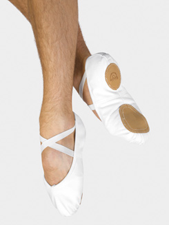Ultimate Mens Split-Sole Canvas Ballet Slipper