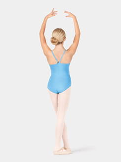 Girls Camisole V-Back Leotard