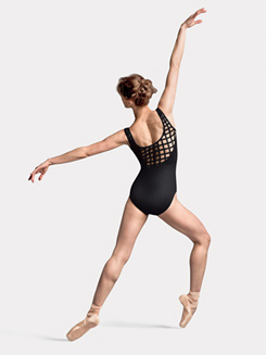 Caged Front and Back Tank Leotard