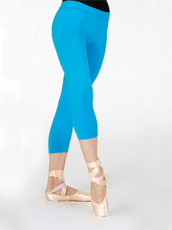 Lightweight Adult Capri Leggings With Inside Seam