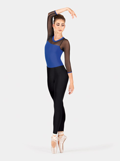 Lightweight Adult Ankle Leggings With Inside Seam
