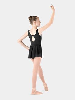 Girls Diamante Swirl Ballet Skirt