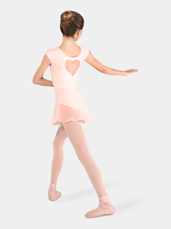 Girls Shaped Waistband Skirt