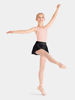 Girls Mesh Ballet Skirt
