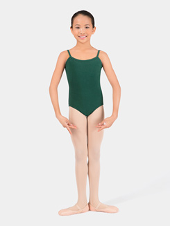 Child Cotton Blend Camisole Dance Leotard
