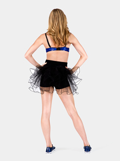 Adult High Waist Bustle Dance Shorts