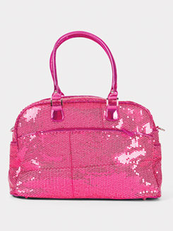 Large Sequined Zip Tote Bag