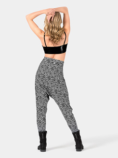 Adult High Waist Arrow Harem Pants