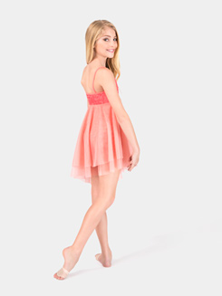 Girls Camisole Asymmetrical Dress