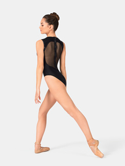 Zipper Back Sweetheart Leotard