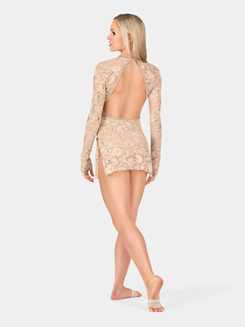 Adult Lace Long Sleeve Dress