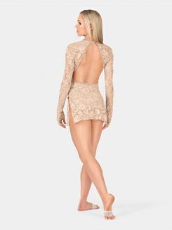 Adult Lace Long Sleeve Dress