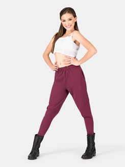 Girls Harem Pull-On Sweatpant
