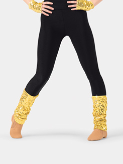 Adult Banded Sequin Legwarmers