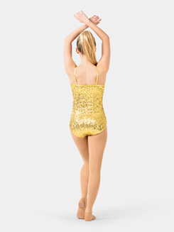 Adult Sequin Camisole Performance Leotard