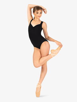 Adult Criss-cross Back Tank Dance Leotard