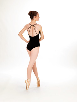 Adult V-Front Camisole Dance Leotard 