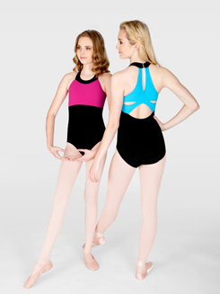 Adult Clover Strap Back Tank Dance Leotard