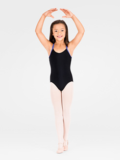 Child Double Camisole Strap Leotard 