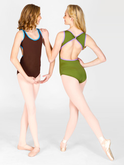 Adult Open Back Tank Dance Leotard