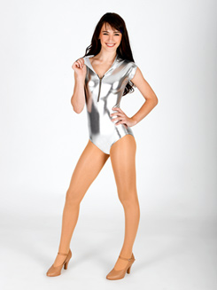 Adult Hooded Tank Dance Leotard 