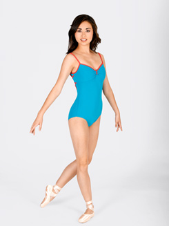 Two-Tone Camisole Leotard