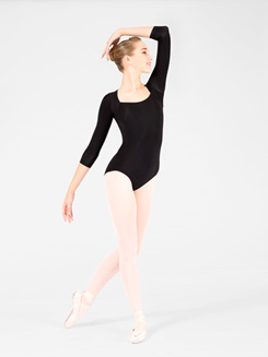Adult Striped Back Leotard 