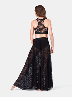Adult Lace Long Skirt