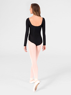 Long Sleeve Adult Sweetheart Leotard 