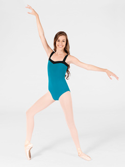 Adult Two-Tone Tank Leotard