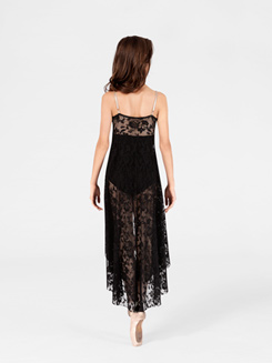 Adult High-Low Lace Camisole Dress