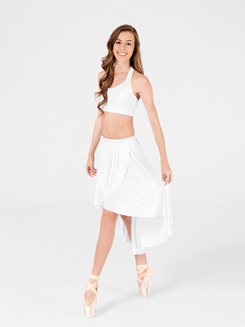 Adult High-Low Pull-On Skirt 