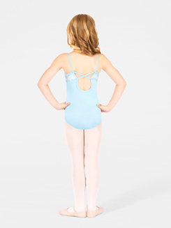 Child Sparkle Dot Camisole Leotard 