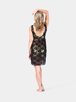 Girls Tank Lace Overdress