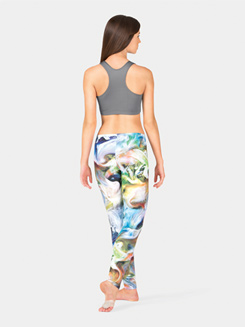 Adult Abstract Swirl Legging