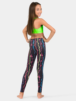 Girls Lightning Bolt Legging