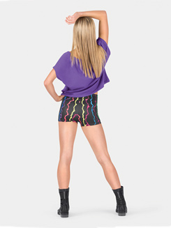 Adult Lightning Bolt Dance Shorts