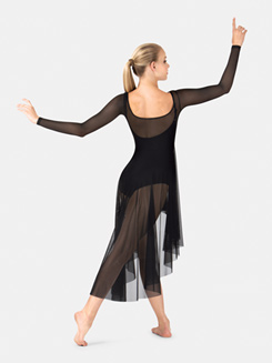 Adult Long Sleeve Mesh Lyrical Dress