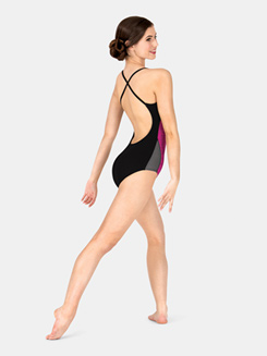 Adult Colorblock Camisole Leotard