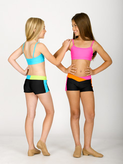 Child Two-Tone V-Front Short